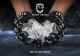 FIST Handwear Fosty Fingers Black Snowflake_