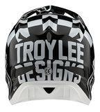 BMX World Troy Lee Designs D3 Fiberlite Raceshop White 2020
