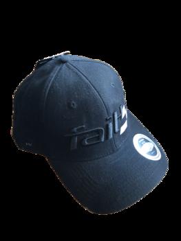Faith Race Cap Black