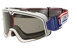100% Barstow Classic White Smoke lens Crossbril