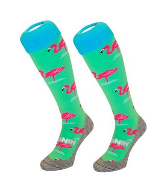 Hingly Socks Flamingo Green