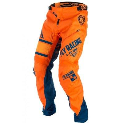 Fly Kinetic Bicycle pants orange/ Navy