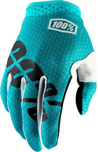 100% iTrack Glove Teal