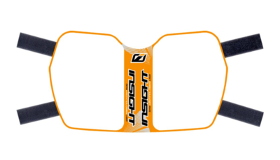 Insight Side plate Orange