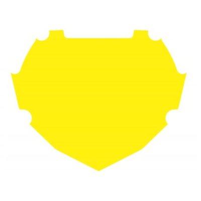 BOX Achtergrond Sticker Geel Groot