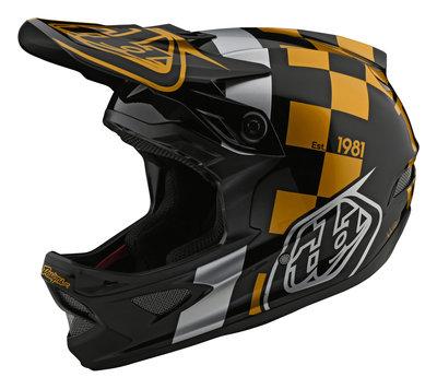 Troy Lee Designs D3 Fiberlite Raceshop Gold 2020