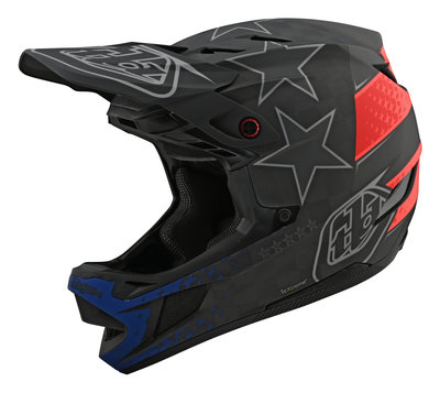 Troy Lee Designs D4 Carbon TeXtreme® Freedom 2.0 2020