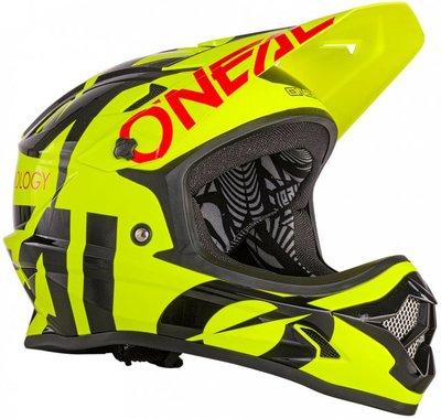O'Neal Backflip RL II Slick Yellow Helm