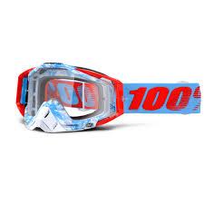 100% Crossbril Racecraft Bobora Clear