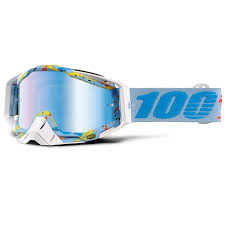 100% Crossbril Racecraft Hyperloop Mirror Blue