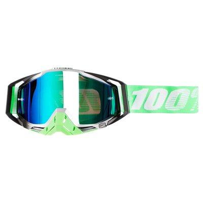 100% Crossbril Racecraft Organic Mirror Green