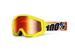 100% Strata Crossbril Sunny Days Mirror red