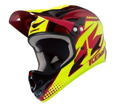 Kenny BMX downhill Helm Candy Red 2019