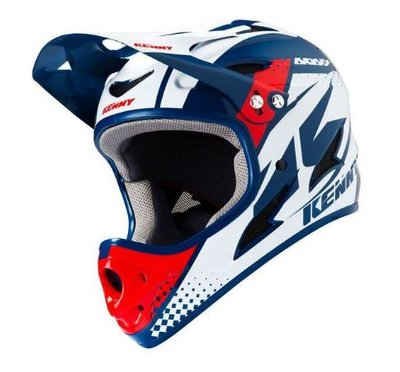 Kenny BMX downhill Helm Red Navy 2019