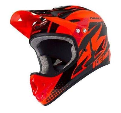 Kenny BMX downhill Helm Orange 2019