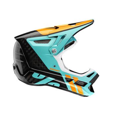 100% Aircraft Carbon Helmet Ripper Black - Pre Order