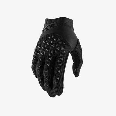 100% Airmatic Glove Black Charcoal