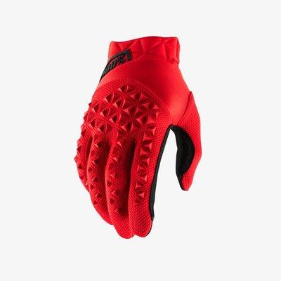 100% Airmatic Glove Red