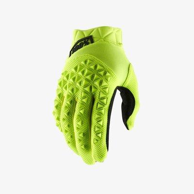 100% Airmatic Glove Yellow