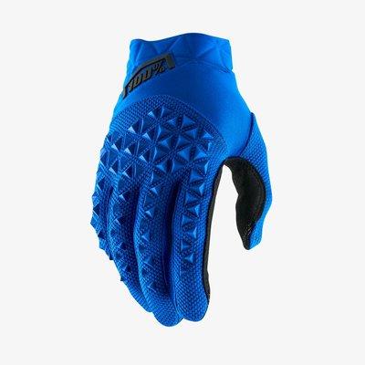 100% Airmatic Glove Blue