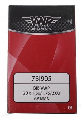 VWP Binnenband voor bandenmaat 20 x 1.50 – 2.35