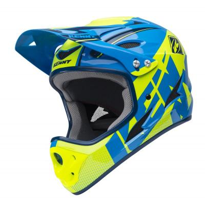 Kenny BMX downhill Helm Neon Yellow Navy