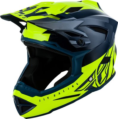 FLY Default helm Teal/Hi-Vis Yellow