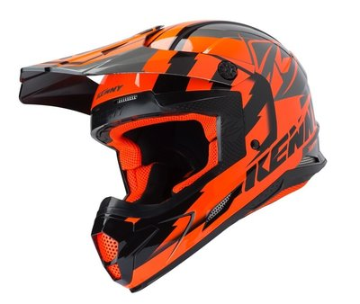 Kenny Track Helm Orange 2019