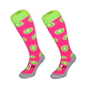 Hingly Socks Kiwi Pink