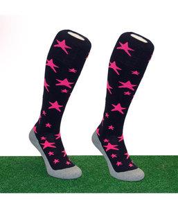 Hingly Socks Pink Star