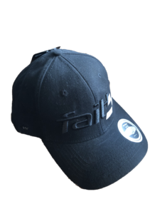 Faith Race Cap Black
