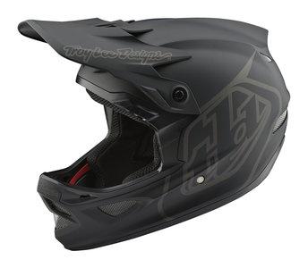 BMX World Troy Lee Designs D3 Fiberlite Mono Black 2020