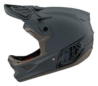 Troy Lee Designs D3 Fiberlite Stealth Gray 2021 BMX World