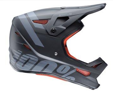 100% Status Helmet Black Meteor